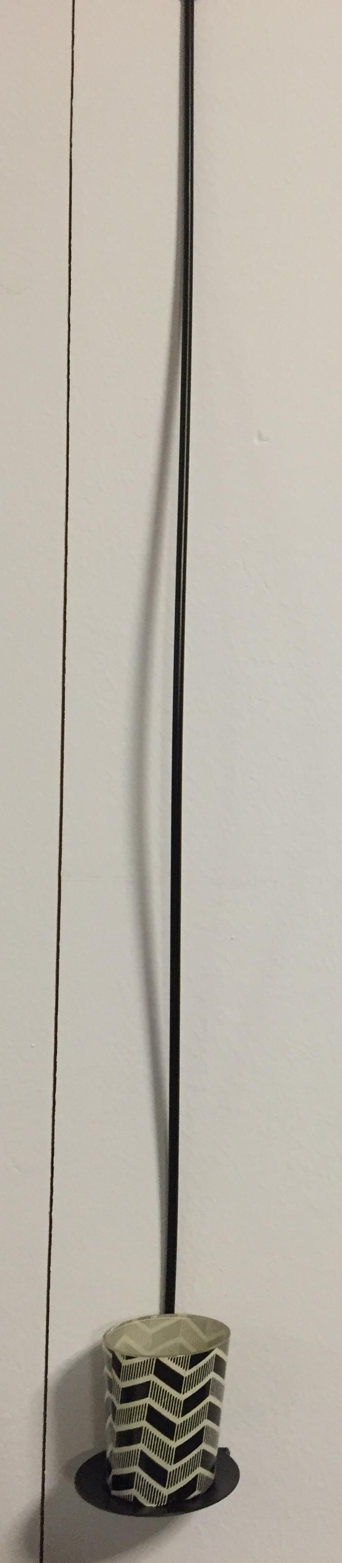 teelicht mit metallst nder zum h ngen stilsch n. Black Bedroom Furniture Sets. Home Design Ideas